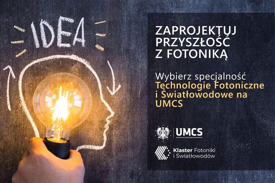 Technologie fotoniczne i światłowodowe na UMCS