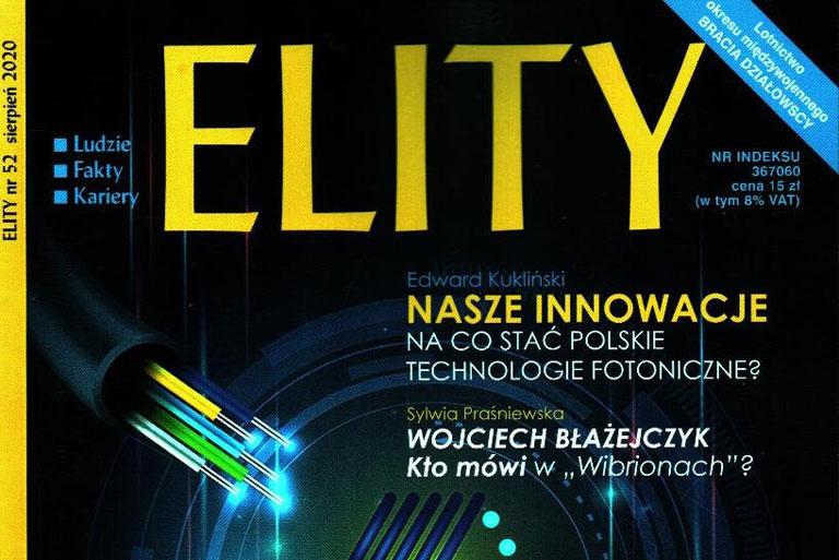 """Klaster Fotoniki i Światłowodów w """"ELITACH""""!"""