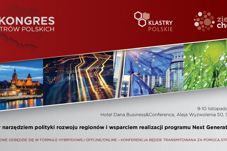 VI Kongres Klastrów Polskich/9-10 listopada 2020 r.