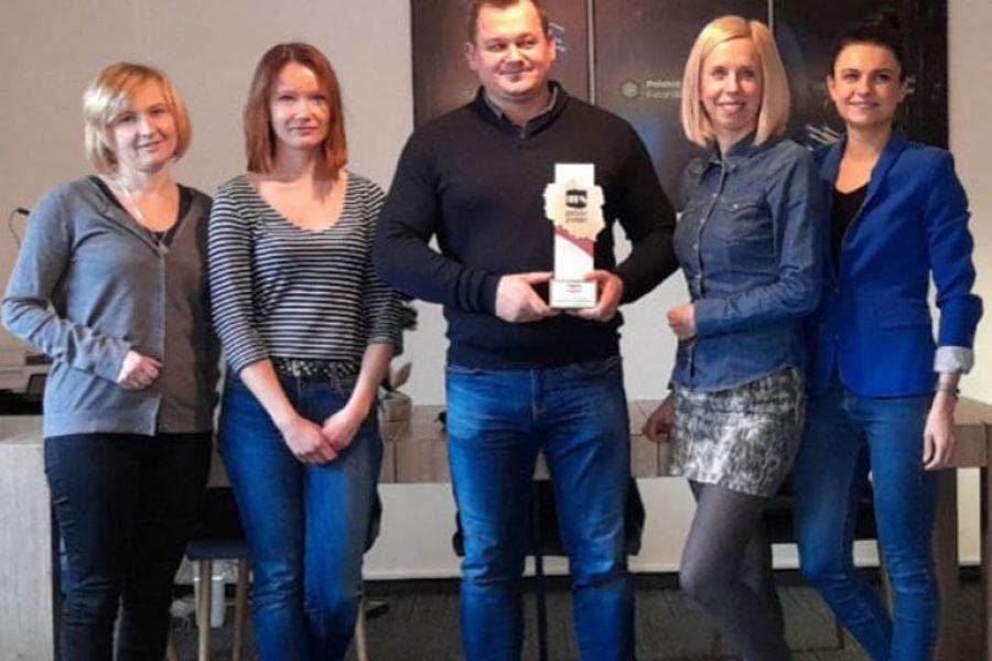 Nagroda 100% Polski Produkt dla naszego Klastra i wywiad w tygodniku 'Do Rzeczy'